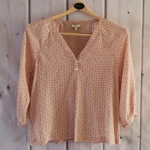 Joie 3/4 Sleeve Top Size XS